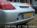 CHROME AT THE REAR!